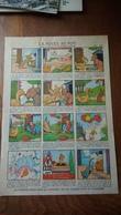 La Poule Au Pot Planche Dessin A4  Benjamin Rabier Offerte Par Pétrole Hahn - Publicités