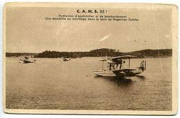 Escadrille Mouillage Baie Hagernas Suède C.A.M.S. CAMS 55 Hydravion (militaire) Exploration Et Bombardement - Equipment