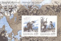 Dänemark 2004 Block 22 NORDEN Nordische Mythen Postfrisch `** Mnh - Danimarca