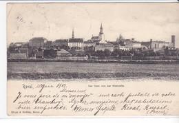 CPA Old Pc Estonie Tallinn 1905 View Stamp Postmark - Estonie