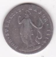 République De Gênes. 10 Soldi 1814 Genova, Argent - Regional Coins