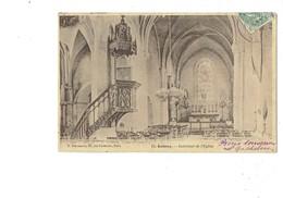 Cpa - 92 - Antony - Intérieur De L'église - Pouydebat F. 11 - 1904 - Antony