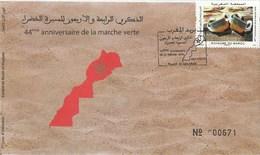 Maroc. Enveloppe De 1er Jour. 2019. 44è Anniversaire De La Marche Verte. - Morocco (1956-...)