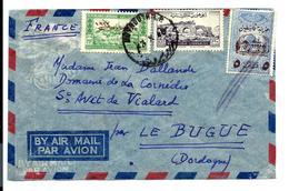 Lettre Du LIBAN 1948 - Air Mail - Par Avion - Capitaine De Vaisseau Jean Ballande Pour Saint-Avit De Vialard Dordogne - Lebanon