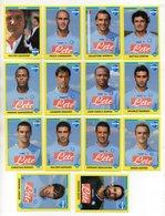 Figurine Calciatori 2009/2010 - NAPOLI - Lotto Nr. 14 Figurine - Edizione Panini 2010 - (FDC21024) - Panini