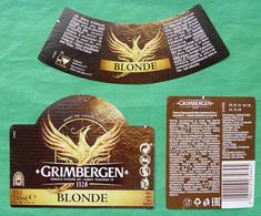 GRIMBERGEN Beer Label - Bière