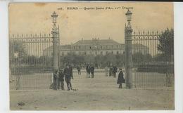 REIMS - Quartier Jeanne D'Arc - 22ème Dragons - Reims