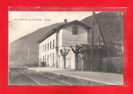 68-CPA MOOSCH - LA GARE - France