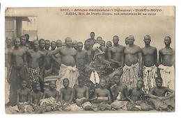 DAHOMEY ADJIKI ROI DE PORTO NOVO, SES MINISTRES, SA COUR CPA 2 SCANS - Dahome