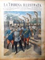 La Tribuna Illustrata 8 Agosto 1915 WW1 Carso Isonzo Casa Del Malato Eroi Genio - Guerre 1914-18