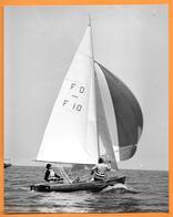 VOILIER - BARCA - SAIL BOAT - BARCA A VELA PHOTO PRESS 1959 - Barche