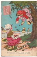 """Dessin G.B. """"Ma Culotte Est Solide... """"  (1928)  CP383 - Humor"""
