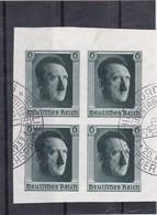 Deutsches Reich, Nr. 647 Im Viererblock, Gest. (T 15636) - Usados