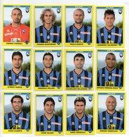 Figurine Calciatori 2009/2010 - ATALANTA - Lotto Nr. 12 Figurine - Edizione Panini 2010 - (FDC21025) - Panini