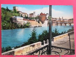 Visuel Pas Très Courant - Italie - Bassano Del Grappa - Panorama - 1953 - Recto Verso - Vicenza
