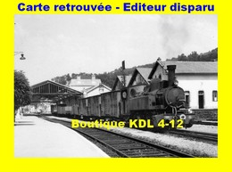 BVA 655-07 - Train MV - Loco 020+020 T N° 104 En Gare - TULLE - Corrèze - POC - Tulle