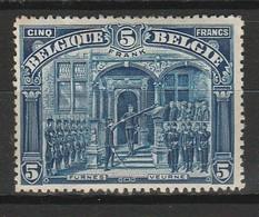 BELGIQUE 1915 YT N° 148 * - 1915-1920 Albert I
