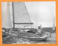 VOILIER - BARCA - SAIL BOAT - BARCA A VELA PHOTO PRESS 1960 - VALENTINE HOWELLS - Barche
