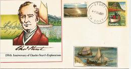 AUSTRALIE. Explorateur Charles Sturt, Exploration De L'interieur De L'Australie,lettre Du Village STURT - Explorateurs