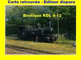 BVA 655-12 - Loco 020+020 T N° 104 En Gare - TREIGNAC - Corrèze - POC - Treignac