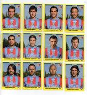 Figurine Calciatori 2009/2010 - CATANIA - Lotto Nr. 12 Figurine - Edizione Panini 2010 - (FDC21026) - Panini