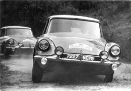 CLAUDINE BOUCHET SUR DS19  SAISON 1963  TOUR DE CORSE - Rally Racing