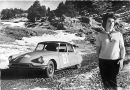 CLAUDINE VANSON BOUCHET SUR DS19 CHAMPIONNE DE FRANCE DES RALLYES 1960 ET 1961 - Rally Racing
