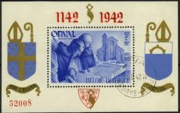 [A2204] België BL18 - Orval Met Engelse Cijfers - Genummerd - Gestempeld - O - Used - Blocs 1924-1960