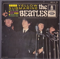 The BEATLES - EP - 45T - Disque Vinyle - Yellow Sub Marine - 126 - Autres - Musique Anglaise