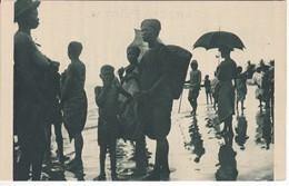 POSTAL DE GUINEA ESPAÑOLA DE PLAYERAS DE PUNTA M'BONDA (EXPO IBERO-AMERICANA SEVILLA 1929) - Guinée Equatoriale