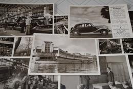 Lot Séries 12 Photos USINE RENAULT Ile Seguin Années 30 Primaquatre Juva - Turismo