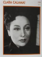 Clara CALAMAI (1950) - Fiche Portrait Star Cinéma - Filmographie - Photo Collection Edito Service - Photographs