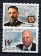RUSSIE RUSSIA 2003, Membres Académie Des Sciences, 2 Valeurs, Neufs / Mint. R976 - Unused Stamps