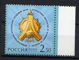 RUSSIE RUSSIA 2003, Yvert 6739, Académie Des Sciences, 1 Valeur, Neuf / Mint. R1047 - Unused Stamps