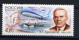 RUSSIE RUSSIA 2003, Yvert 6760, Explorateur Polaire, 1 Valeur, Neuf / Mint. R1054 - Unused Stamps