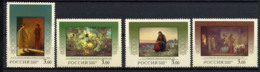 RUSSIE RUSSIA 2000, Yvert 6446/9, Naissance Du Christ, Tableaux, 3 Valeurs, Neufs / Mint. R759 - Unused Stamps