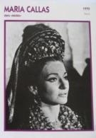 """Maria CALLAS """" Médée""""  (1970)- Fiche Portrait Star Cinéma - Filmographie - Photo Collection Edito Service - Photographs"""