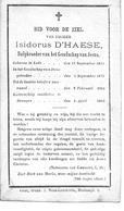 D'Haese Isodorus (  Lede 1851 -drongen 1884) - Religión & Esoterismo