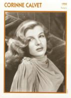 Corinne CALVET (1952) - Fiche Portrait Star Cinéma - Filmographie -  Photo Collection Edito Service - Photographs