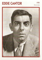 Eddie CANTOR (1925)  - Fiche Portrait Star Cinéma - Filmographie -  Photo Collection Edito Service - Photographs