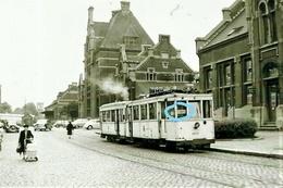 PHOTO  TRAM ATH FLOBECQ SNCV REPRO - Strassenbahnen
