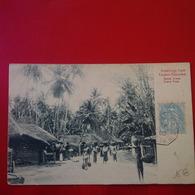 GREETINGS FROM CEYLON COLOMBO STREET SCENE CACHET BATEAU - Sri Lanka (Ceylon)