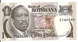 BOTSWANA 1 PULA ND1976 UNC P 1 - Botswana