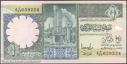 TWN - LIBYA 57b - ¼ Dinar 1991 Series 4 - Prefix 39ﻫ UNC - Libya