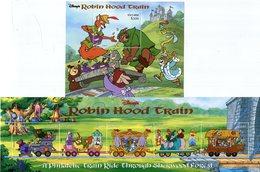 GUYANA    El Tren De Robin De Los Bosques   -169 - Disney