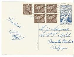 Entier Postal N° 15 + T.P. Mercure De Paris à Bruxelles ?/06/1939 - 1938-42 Mercure