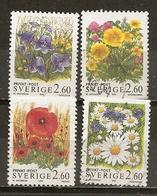 Suede Sweden 1993 Fleurs Flowers Obl - Usados