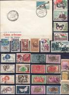 FRANCE Et AFRIQUE !  LETTRES 1er JOUR Et Timbres Anciens De Madagascar, Burundi, Et Guinée Depuis 1940 ! NEUFS - Collections