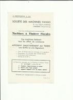 Haute Vienne Limoges Fac Simile Pour La Promotion Des Machines à Affranchir Havas - 1921-1960: Moderne