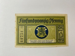 Allemagne Notgeld Leutenberg 25 Pfennig - [ 3] 1918-1933 : République De Weimar